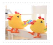 新款12生肖小黄鸡 小黄鸡形象