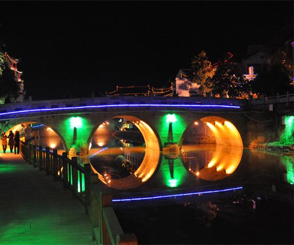 三河风景区-仙龟桥