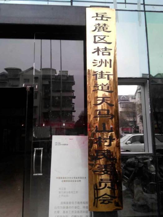 1.20日天马山村居委会走访