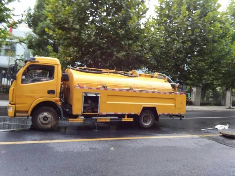 高壓清洗路面