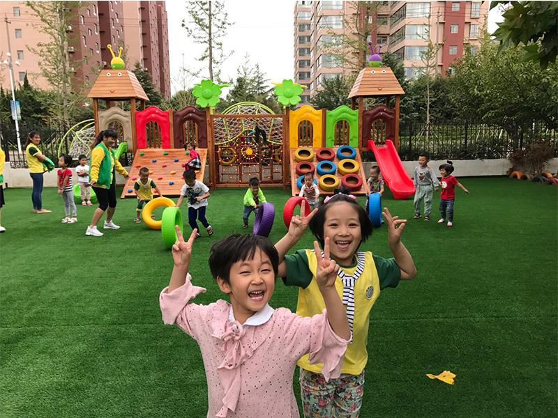 安丘高端幼兒園團隊活動