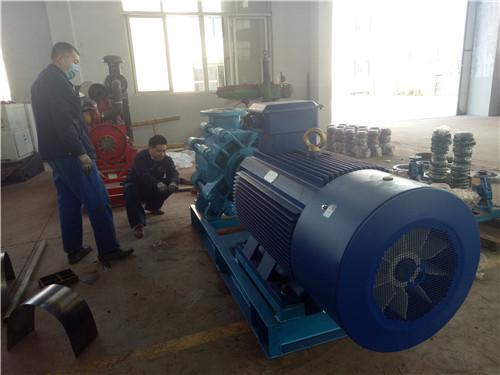 MD500-57煤礦用耐磨多級離心泵