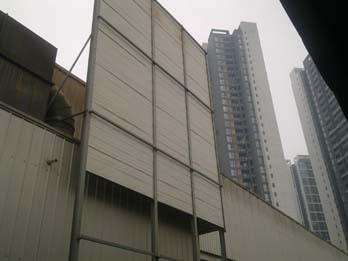 朗萨家私三线厂房整体定向降噪工程