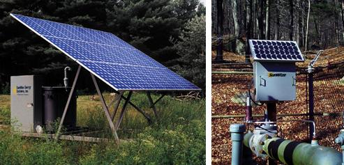 太阳能石油管道