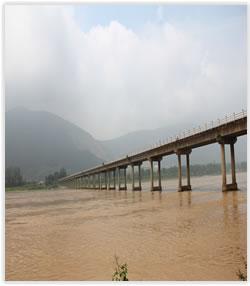 汉中市孤山大桥拆除工程