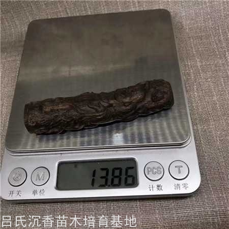 奇楠沉香雕刻件重约14克