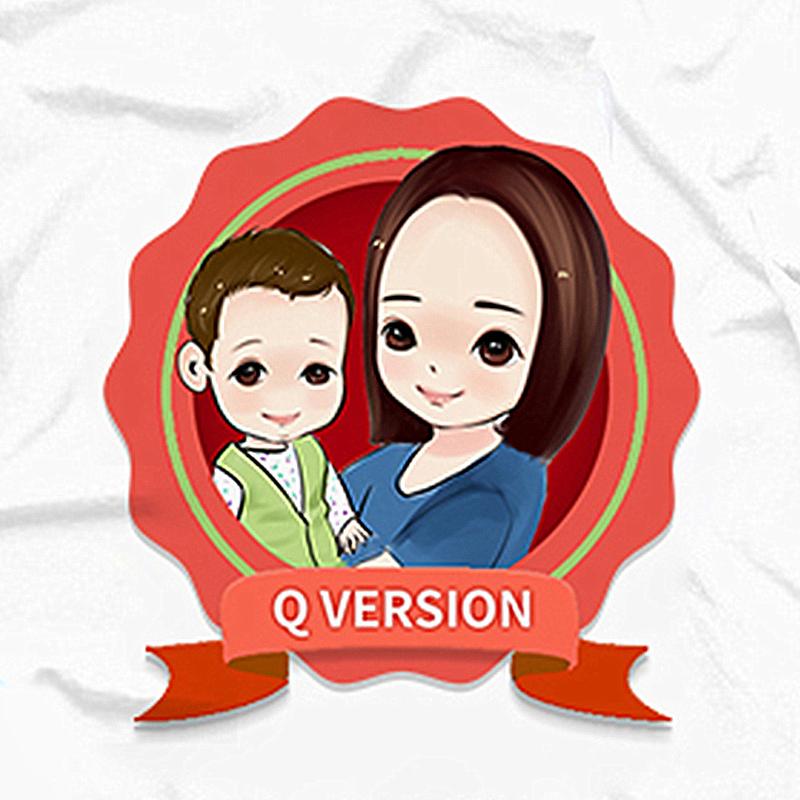 Q版頭像設計,卡通形象設計,吉祥物設計,手繪設計
