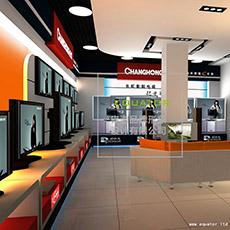 长虹3C专卖店设计方案