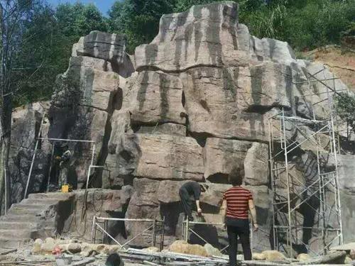 湖南郴州塑石假山