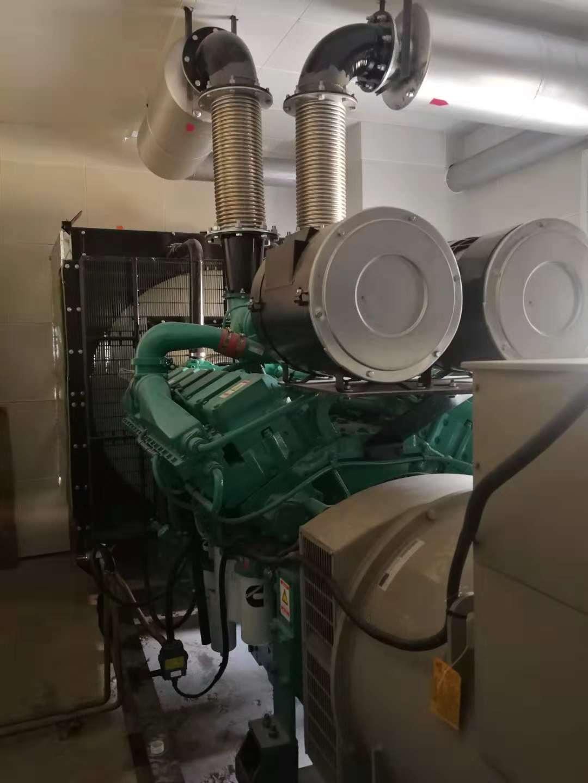 江陰寶灣800KW柴油發電機組配斯坦福電機