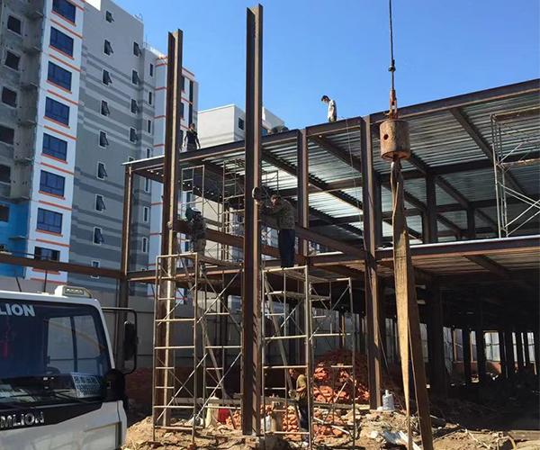 钢结构安装工程案例