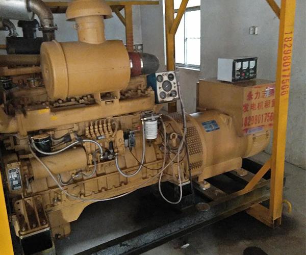 宿州某单位租我公司柴油发电机组