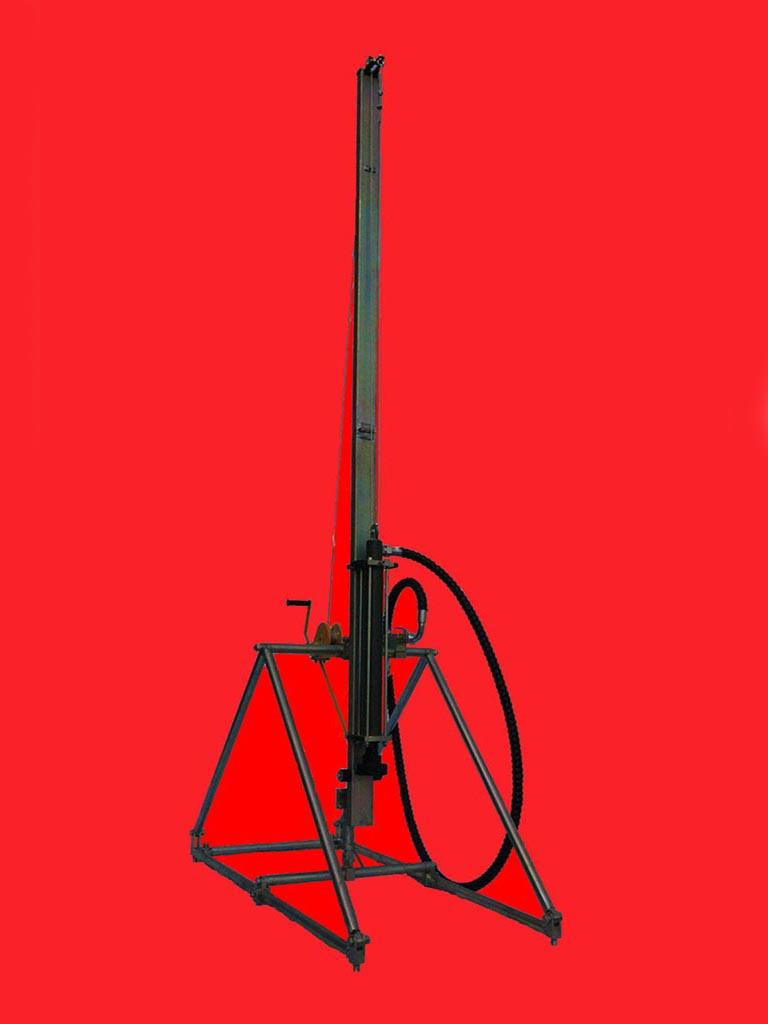 气动植桩机