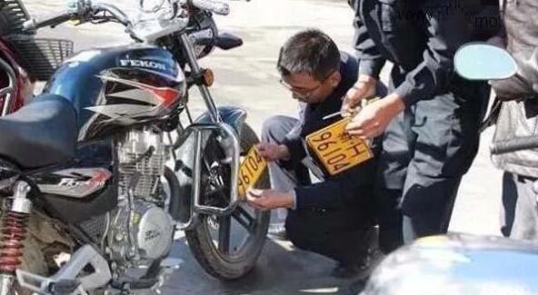 关于摩托车与电动车上牌问题