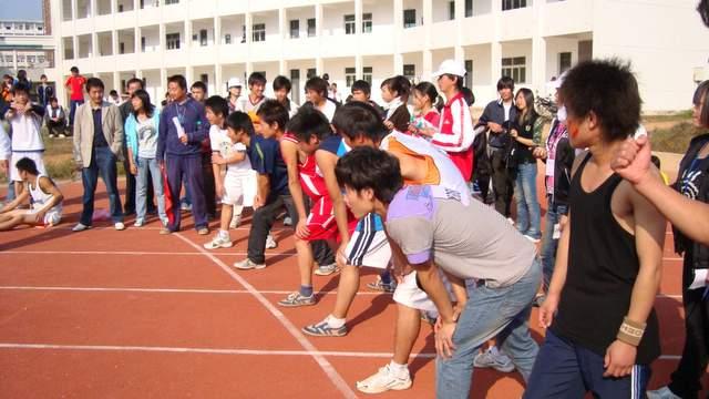 鄱阳博文中学运动会