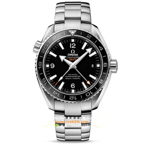 【KW厂】欧米茄海马系列232.30.44.22.01.001男士GMT机械腕表