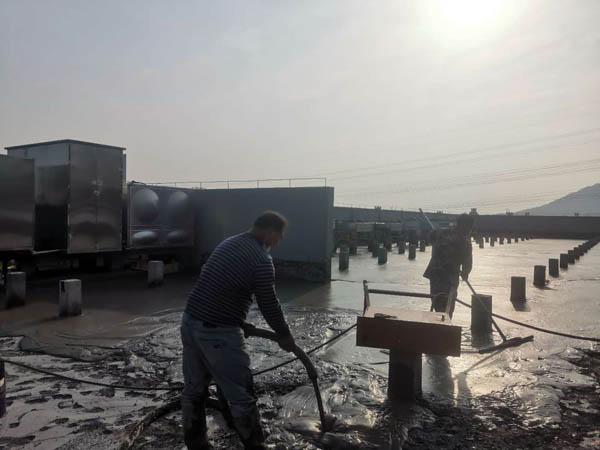中國移動安徽分公司屋面保溫防水改造