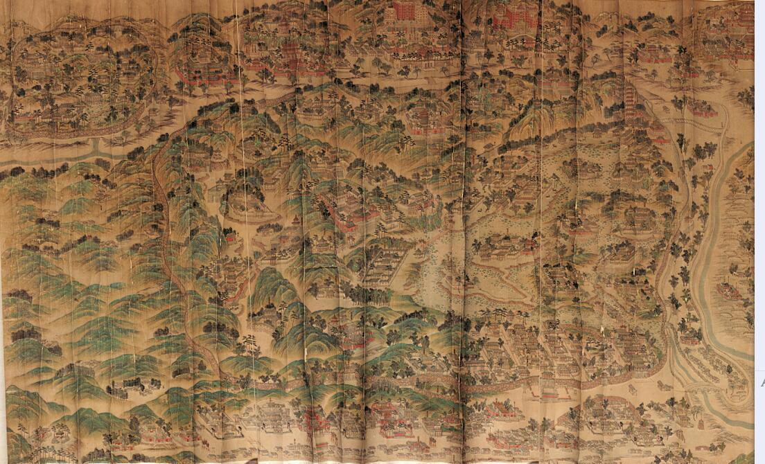 老河道地图