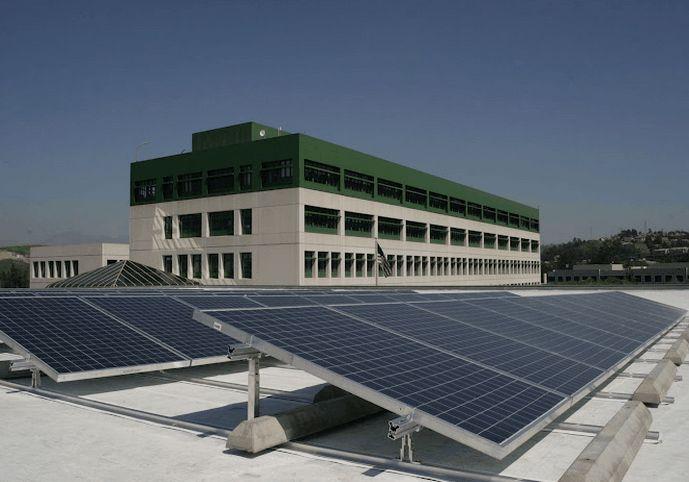 贵州光伏发电平面屋顶角铝支架(载重式)