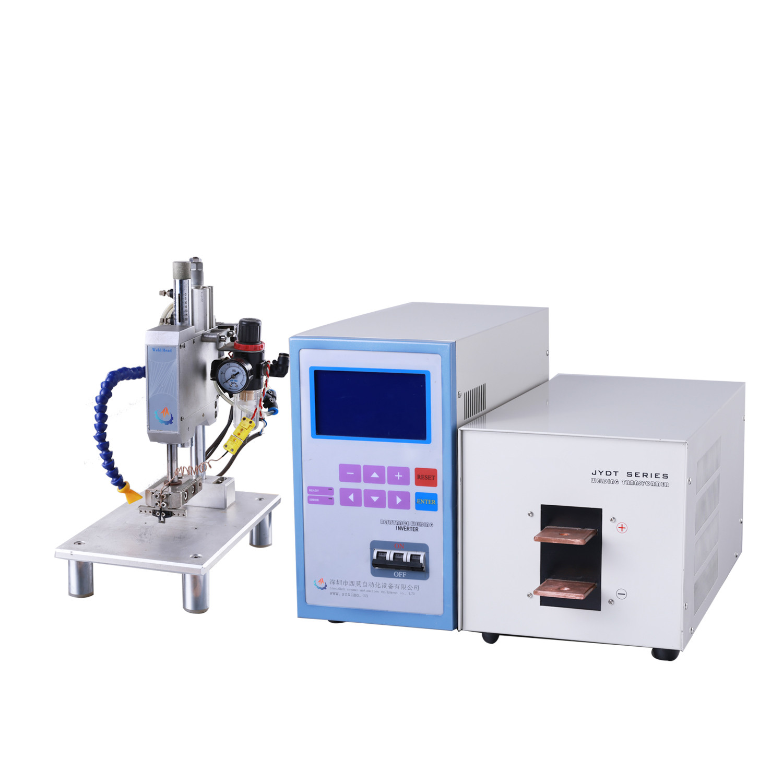 1、直流输出。焊接电流为脉动直流(且波纹度小),无交流过零不连续加热工件的缺点,热量集中,提高了焊接热效率,对有色金属材料和一些难焊材料的焊接特别适合,焊接过程稳定、焊接质量显著提高。同时,电极寿命获得延长。 2、由微控制器(MCU)控制,具有温度监控功能。 3、逆变桥采用软开关技术,减小开关损耗,减小电磁干扰。 4、具有温度失常、监控值超限、网压超限、过热等故障诊断与报警功能。 5、逆变桥电流失常自动关断,增强系统保护。 6、两段加热设定,带温度缓升缓降功能,时间宽范围设定(0-250ms),适用复杂焊