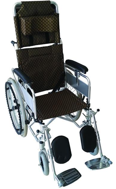 铝合金液压全躺轮椅