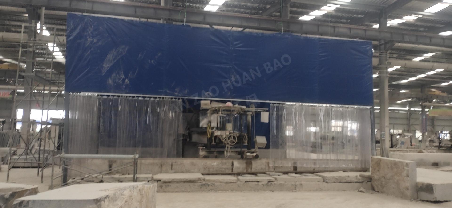 88套喷淋降尘设备 天造环保助力解决石材厂粉尘污染问题