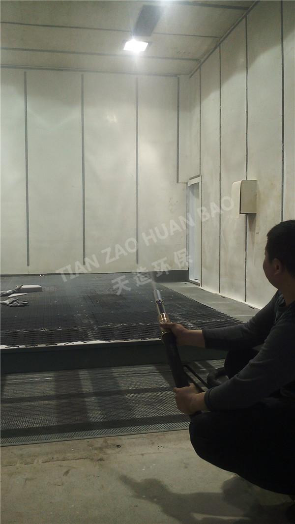 山东天造环保:工件在电镀前进行喷砂工艺的方法及效果