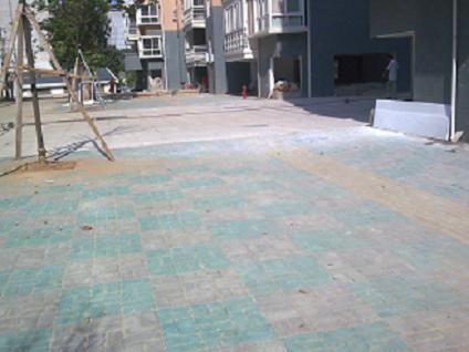 省地质职工医院(彩色路面砖)