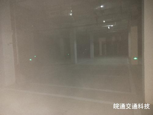 西涧新村地下车库划线施工