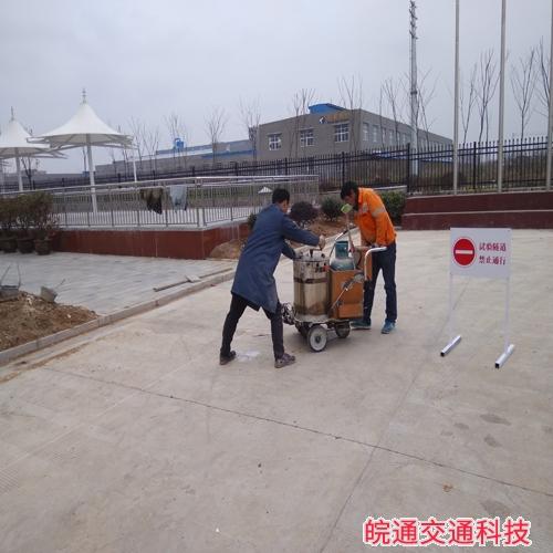 全椒中益新材料厂区划线