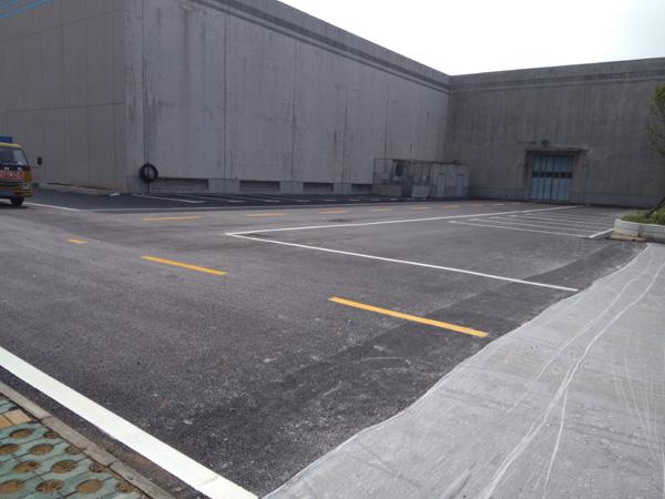 扬子集团厂区标线