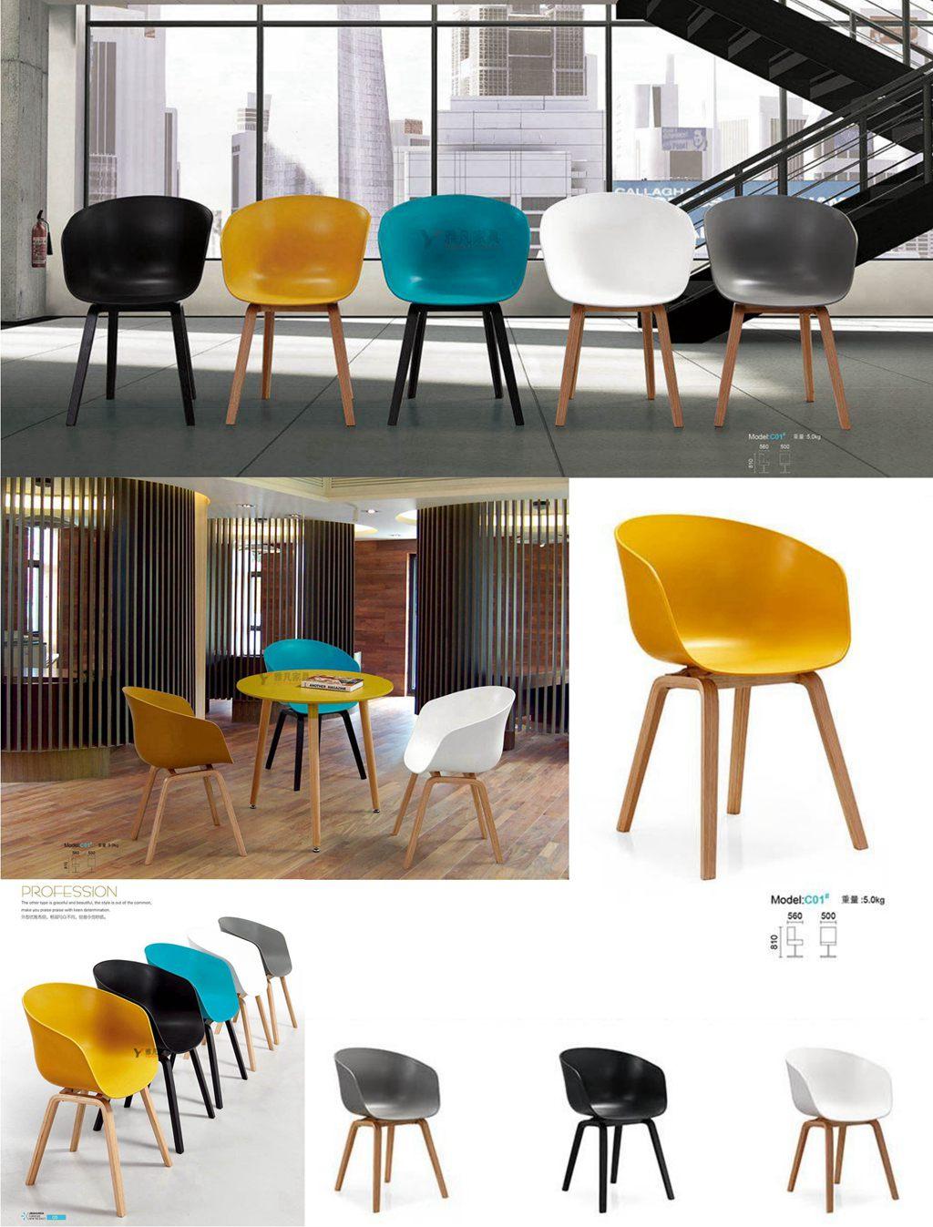 休闲椅|洽谈椅|公共区域会客椅|实木座椅YF-C01