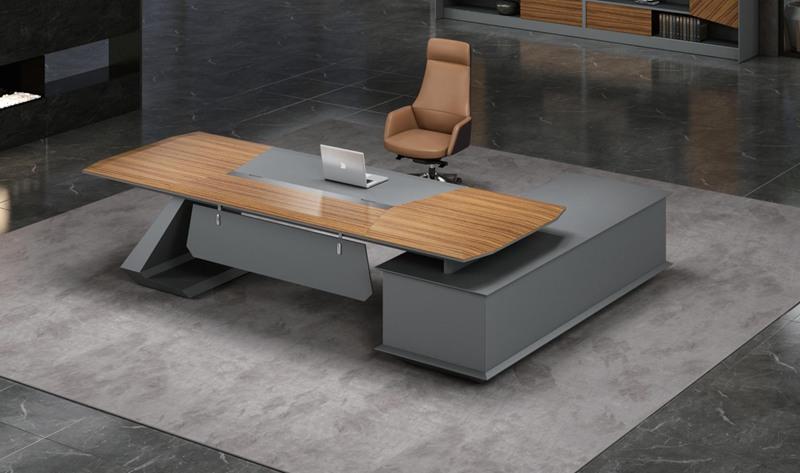 總裁辦公空間整體配套大班臺文件柜沙發茶幾茶水柜系列整體家具