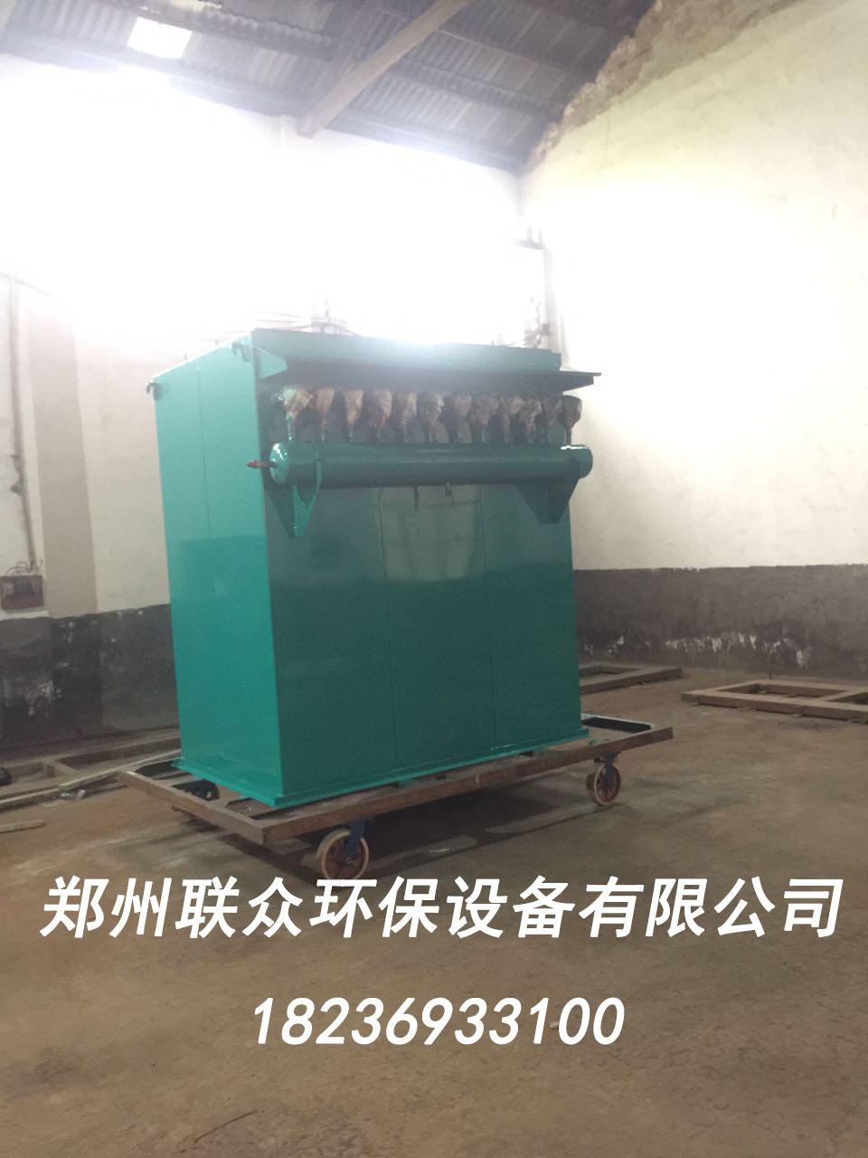 郑州水泥厂客户订的96型除尘器