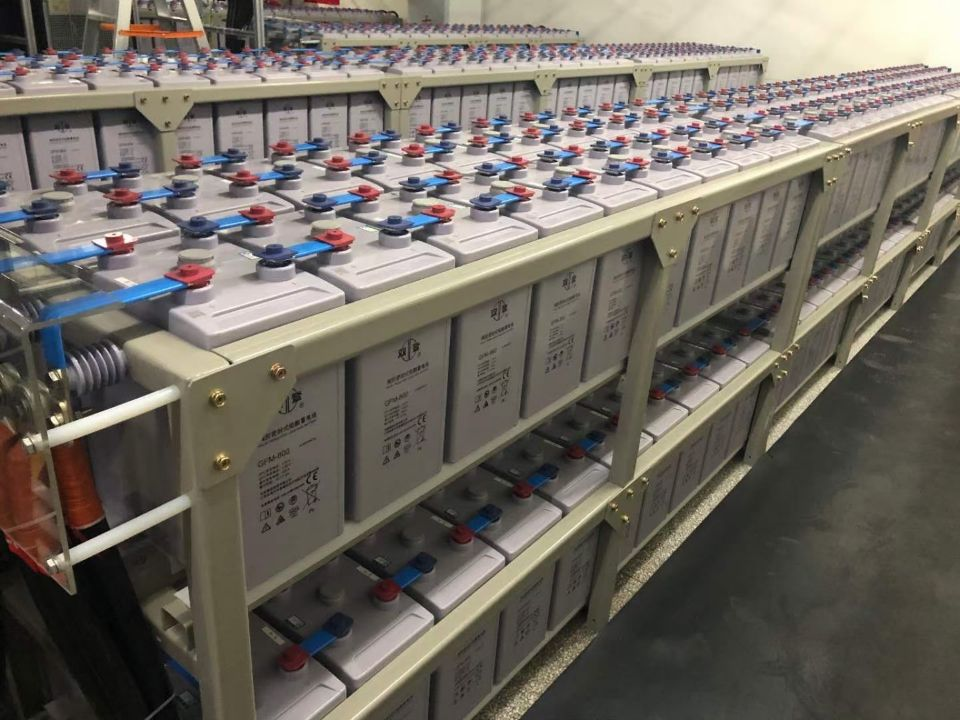 双登蓄电池GFM-800 220V800AH系统安装