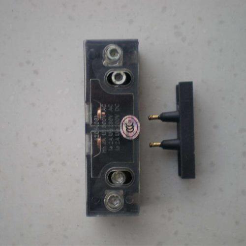 蒂k300门机配件/k300副门锁开关/黑色触点/电梯配件