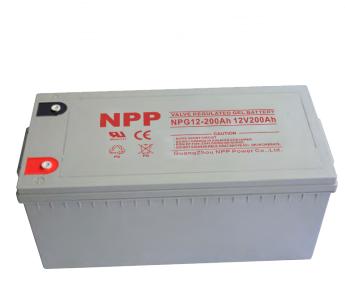 耐普NPP蓄电池NPG12V200AH
